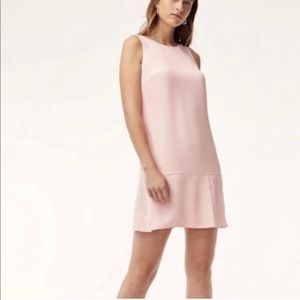 ARITZIA BABATON Arsha Dress size 0 pink